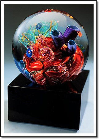 Caribbean Reef Art Glass Award