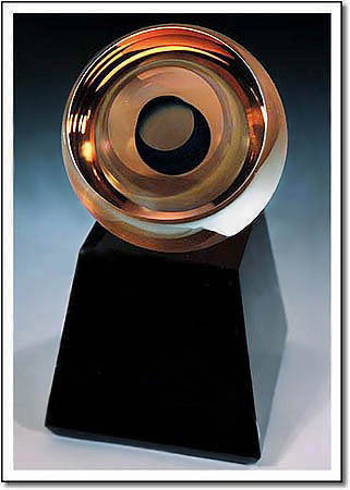 Amber Comet Art Glass Award