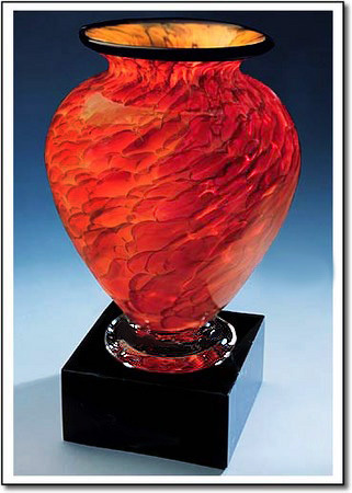 Suncloud Cauldron Art Glass Award