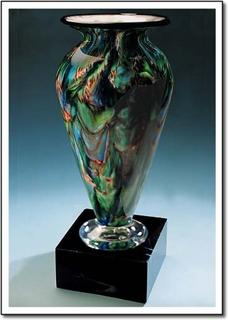 Jade Glen Athena Art Glass Award