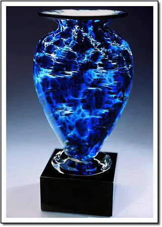 Midnight Tempest Mercury Art Glass Award
