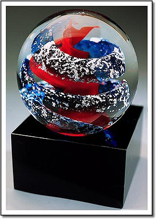 Arctic Fire Art Glass Award