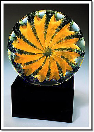 Pineapple Art Glass Award