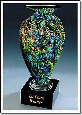 First Place Winner Art Glass Award