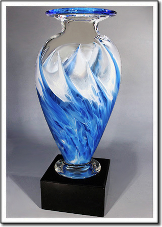 Snow Flurry Mercury Art Glass Award