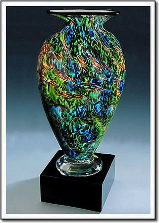 Jade Glen Mercury Art Glass Award