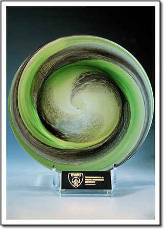 Streetlinks Custom Art Glass Award