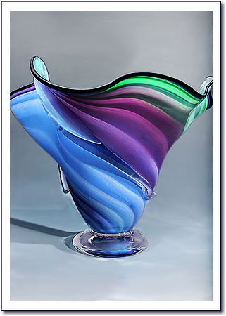Mystic Tidepool Art Glass Award