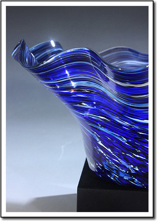 Midnight Tempest Art Glass Award