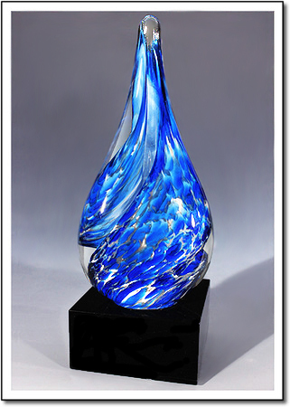 Blue Jay Art Glass Award