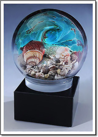 Seychelles Beachcomber Art Glass Award