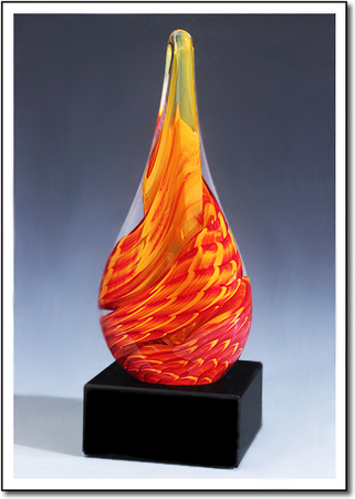 Solar Flare Art Glass Award