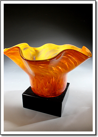 Sun Fire Art Glass Award